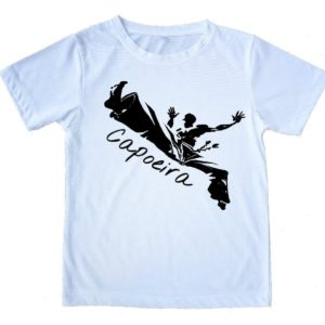 "Capoeira T-Shirt - ""Voador"" - 100% Cotton - Kids and Adults - ZumZum Capoeira Shop"