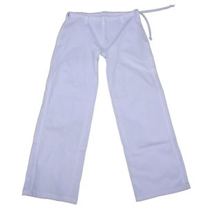 White Capoeira Pants for Kids - ZumZum Capoeira Shop
