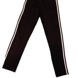 Capoeira Training Pants - Narrow Leg - Black-White - Unisex and Kids - ZumZum Capoeira Shop